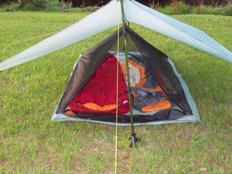 Tarp Tent w/ Bug Bivy **BEST DEAL** Save $29.99 Order Now! & Ultra Light Camping Gear - Home